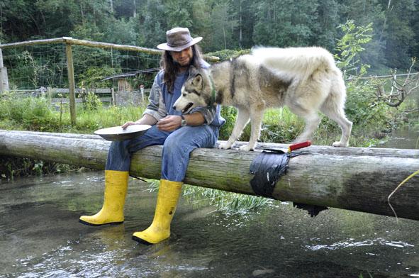 Arbeiten mit dem Hund
